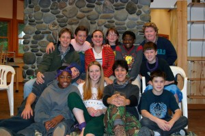 My first youth retreat as leader.