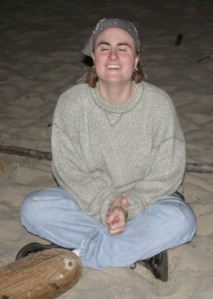 Praying at the Bridgeport Youth Retreat, 2004